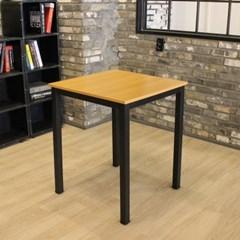 멀바우 빈티지 2인용 600 테이블 소나타의자 세트
