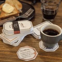 카페 띵즈 코스터 메모 (6종)