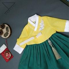 한설한복1703.S 시선강탈 톡톡튀는 매력의 키즈 주니어 한복