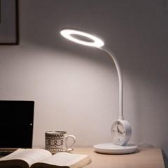 스피아노 일리아나 시계 겸용 LED 스탠드 SL-R378