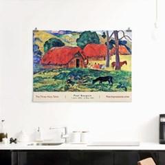 패브릭 포스터 명화 풍경 유화 그림 액자 폴 고갱 7