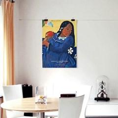 패브릭 포스터 명화 유화 그림 빈티지 액자 폴 고갱 6