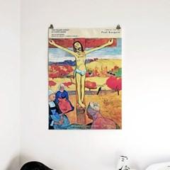 패브릭 포스터 명화 성경 십자가 그림 액자 폴 고갱 5
