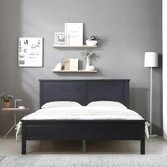 [폴앤코코] 에스토 원목 침대 퀸 Q (원목깔판)_(1001050)
