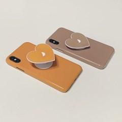 [세트상품] 유광케이스+달 하트톡 (아이폰11/pro/max)