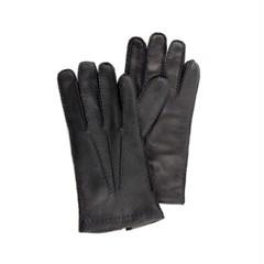 Peccary Leather Gloves For men_Black(Nero)