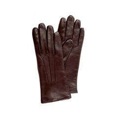 Nappa Leather Gloves For Women_Brown(Marrone)