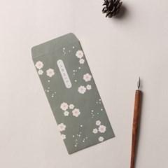 마음을 담아요, 봉투세트 - 포근한 꽃 감사봉투