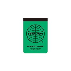 [PANAM] POCKET NOTE_ GREEN_(1380099)