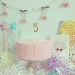 PP CAKE TOPPER - INICIAL