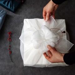 [보자기 포장] 설 선물 과일 시럽 3종 세트