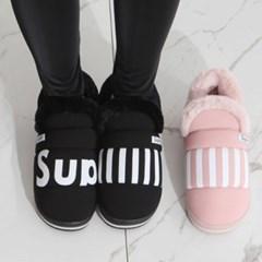 kami et muse Padding fur shoes_KM19w255
