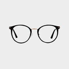 JUDE gold-black 안경 동글이 보잉 수입 난시_(1713932)