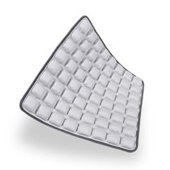 8x8 인체공학 3D입체 엠보싱 바른자세 에어쿠션 방석_(1138759)