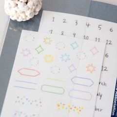 Diary sticker Seal