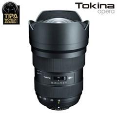 토키나 Opera 16-28mm F2.8 FF 광각렌즈 캐논마운트/K