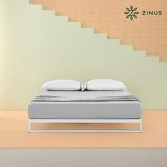 지누스 트리샤 침대 프레임 화이트 (슈퍼싱글)