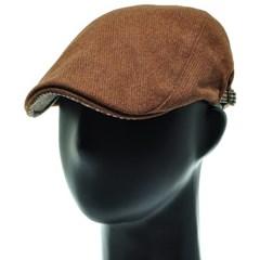[플릭앤플록]RMH37.미니체크 배색 헌팅캡 남성 모자