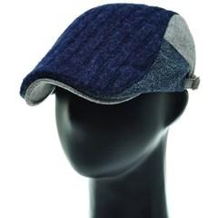 [플릭앤플록]RMH36. 3칼라 배색 니트 헌팅캡 남성 모자