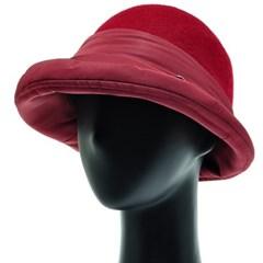[플릭앤플록]RCU21.패딩 배색 펠트 여성 벙거지 모자