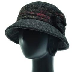 [플릭앤플록]RCU14.밍크방울 귀달이 여성 벙거지 모자