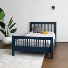 [코코엣지] C형 침대 : 블랑네이비 Q_(1448105)