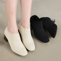 kami et muse Metal color heel short ankle bootee_KM19w264