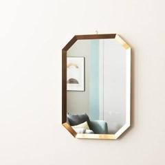 [Ldlab] 보니토 팔각 골드 벽걸이 거울 (중)_(1839221)