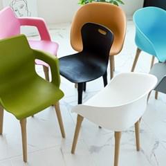 아미라미 인테리어 카페 업소용 디자인 플라스틱 의자_(2233329)