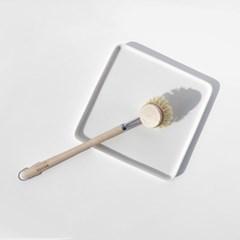 켈러 설거지 브러쉬 섬유질 4cm
