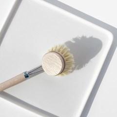 켈러 설거지 브러쉬 교체용 섬유질 4cm