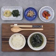 블루라인 데일리 혼밥 그릇세트 1인 8p