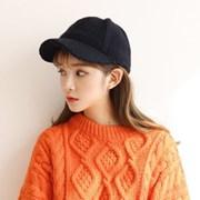 여성 겨울 프레즐 니트 뜨개 캡 모자