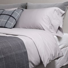 Soft Modal Bedding Set . light gray 모달 Q
