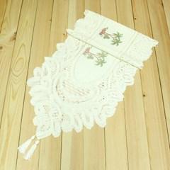 180cm 트리무늬 테이블 러너