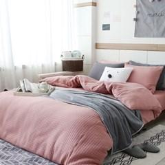 도톰한 퀼팅침구(핑크) (싱글)