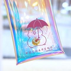 포챠펭 홀로그램 펜슬파우치 Rain