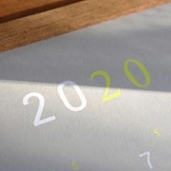 2020 미니 탁상용 달력 캘린더