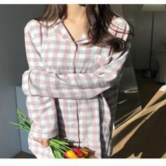 순면100% 루즈핏 원피스 잠옷 홈웨어