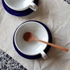 [아름다운 손빚음] 가치공방 - 파랑새 홍차잔 세트 (받_(112434)