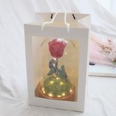 대형 오르골 어린왕자 미녀와야수장미 프리저브드 집들이 생일 선물