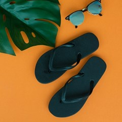 컬러 심플 쪼리 EVA 여름 슬리퍼