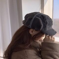 밍크 귀도리 겨울 방한 귀달이 모자 5color