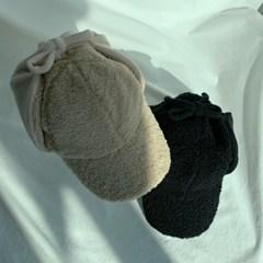 후리스 양털 뽀글이 귀달이 군밤모자 2color