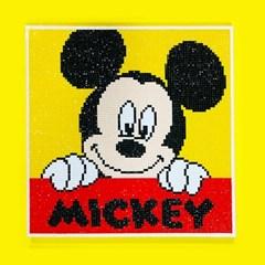 DIY 미키마우스 액자형 보석십자수 디즈니 미키 미니 아이러브페인팅