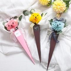 퐁퐁곰콘다발 48cm P5 FMBBFT 조화 졸업식 입학식 꽃_(1681256)
