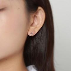 컬러 라운드 귀걸이