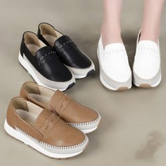 kami et muse Stitch & cubic point  tall up sneakers_KM19w278