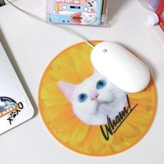 Boss Cat Mouse Pad_Yellow