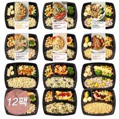 [이츠슬림] 체중조절용식단 다이어트 도시락 6종 12팩 세트